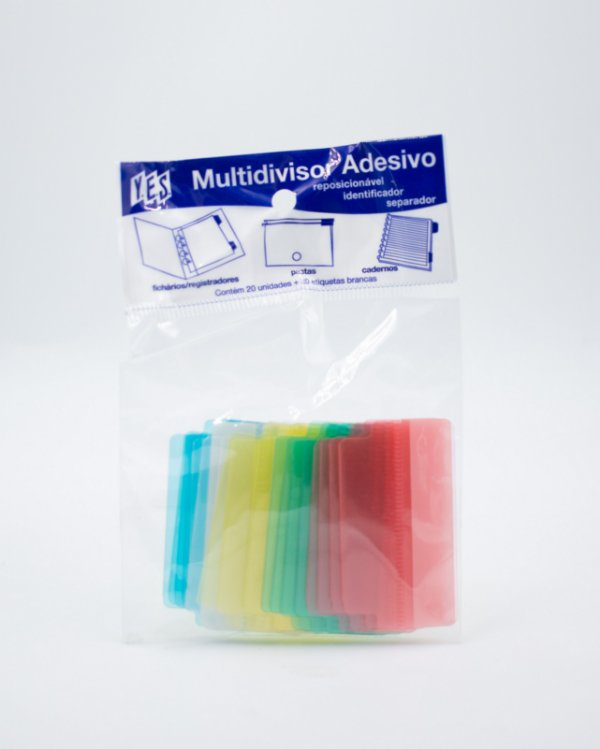 Multidivisor Adesivo Colorido - Divisórias