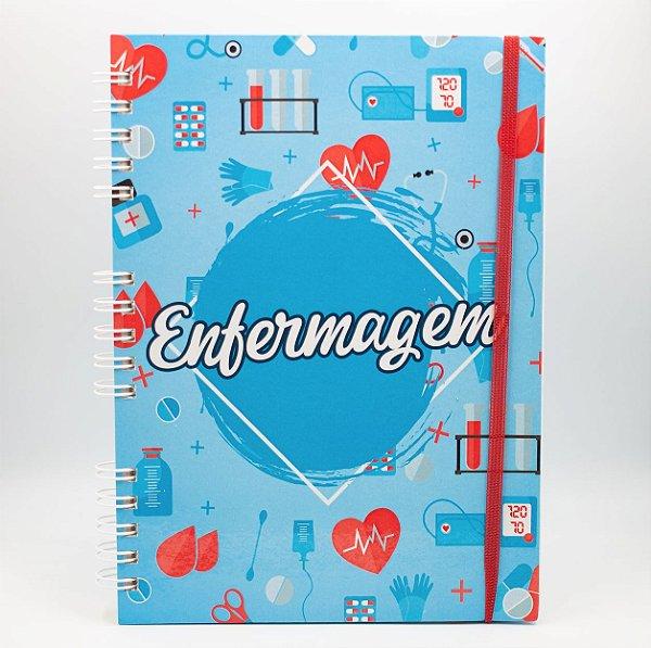 Caderno Universitário Espiral - Profissão Enfermagem