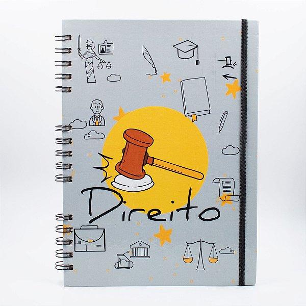 Caderno Universitário Espiral - Profissão Direito