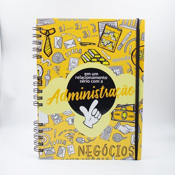 Caderno Universitário Espiral - Profissão Administração