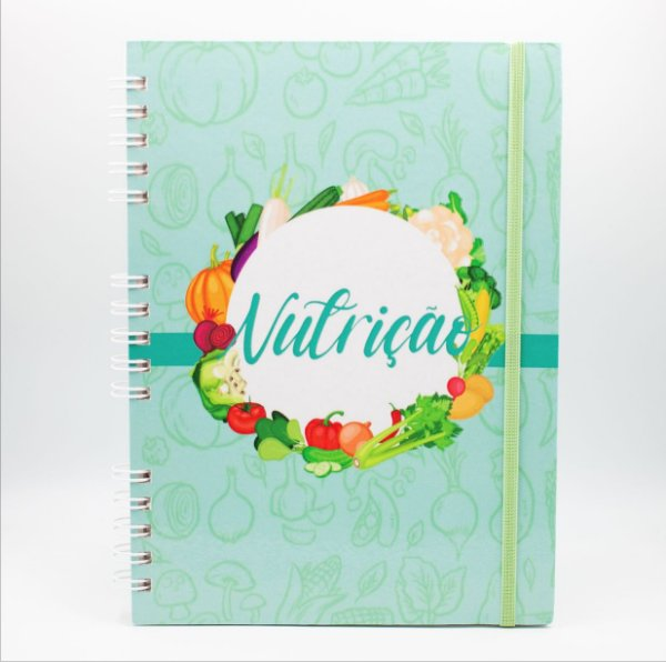 Caderno Universitário Espiral - Profissão Nutriçao