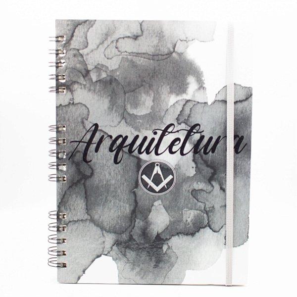 Caderno Universitário Espiral - Profissão Arquitetura