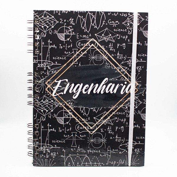 Caderno Universitário Espiral - Profissão Engenharia