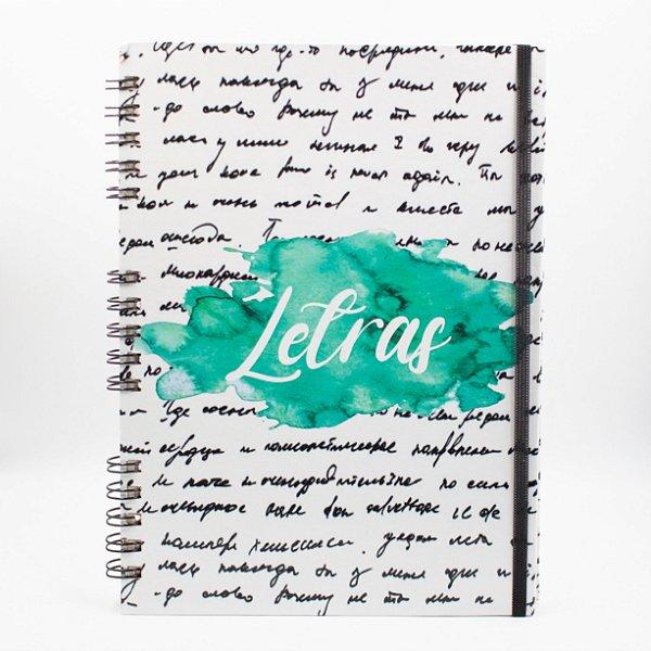 Caderno Universitário Espiral - Profissão Letras