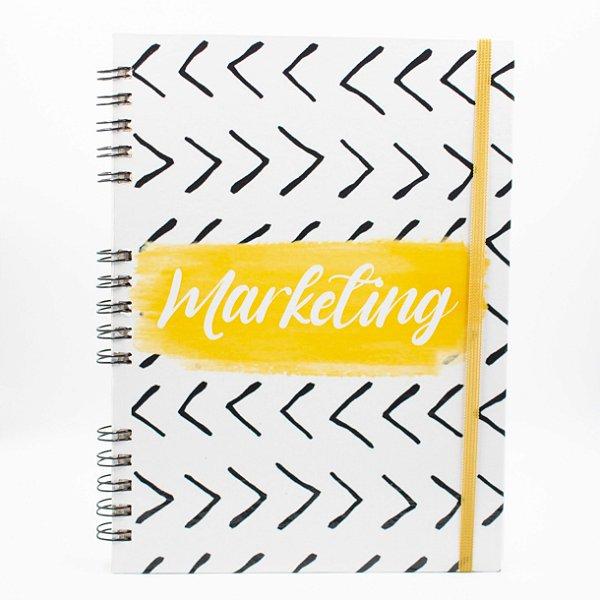 Caderno Universitário Espiral - Profissão Marketing