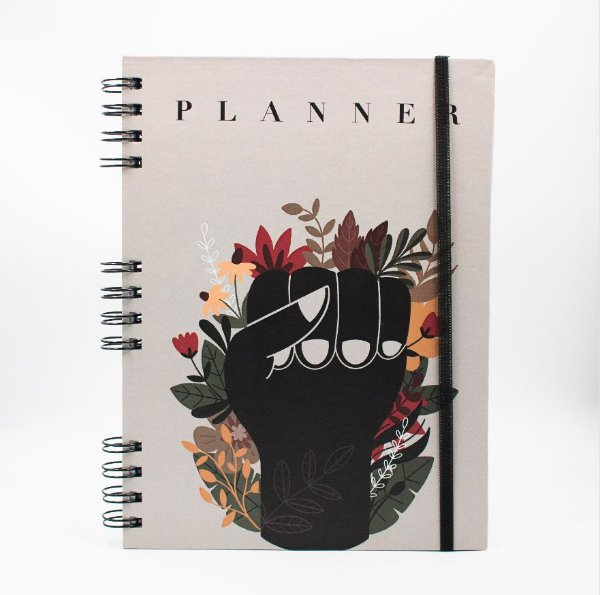 Agenda Permanente Planner  -  Collab Mão Black is Live (06)