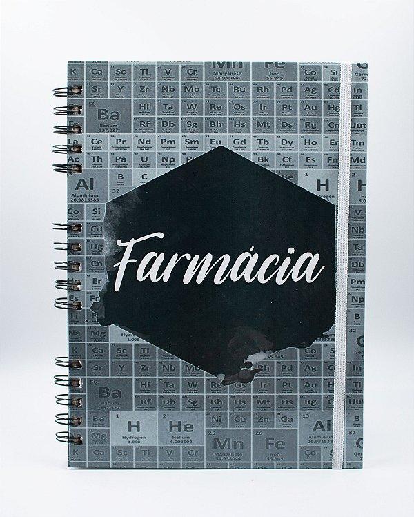 Caderno Universitário Espiral - Profissão Farmácia