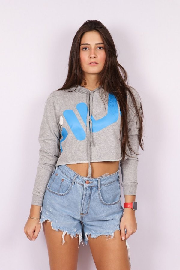 CROPPED MOLETOM FILA