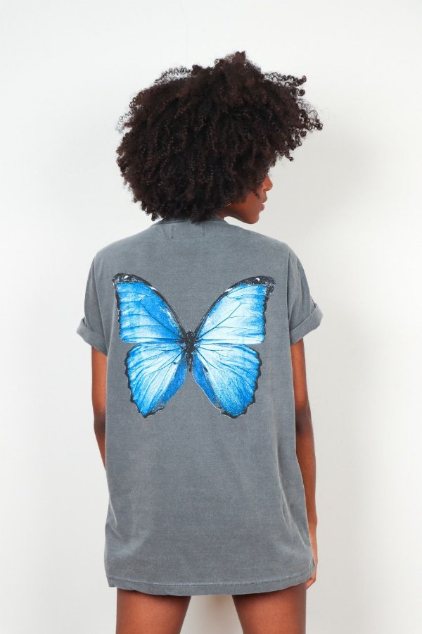 BLUSA BUTTERFLIES BLUE