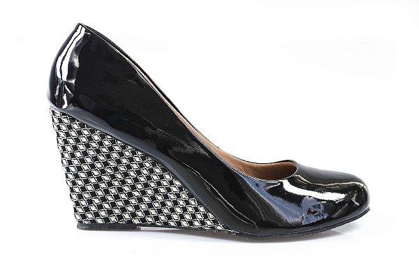 Sapato Boneca Buquê Preto