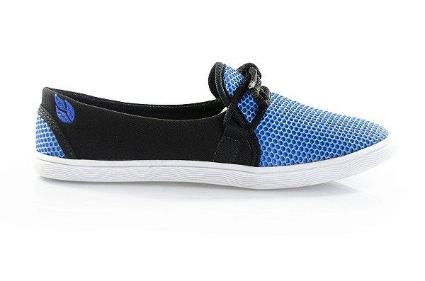 Sapatilha Grindélia azul/preto