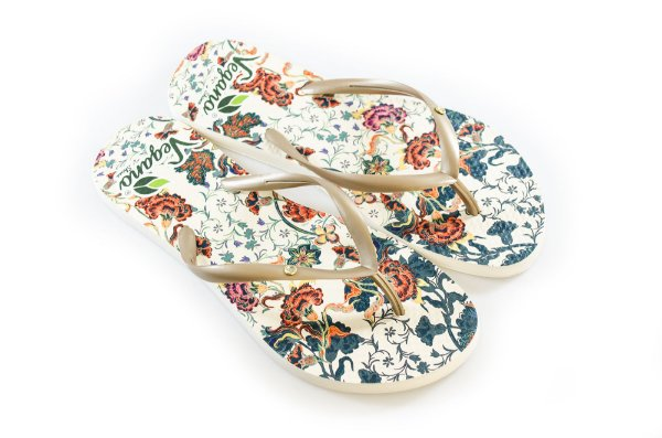 Chinelo Nature Floral