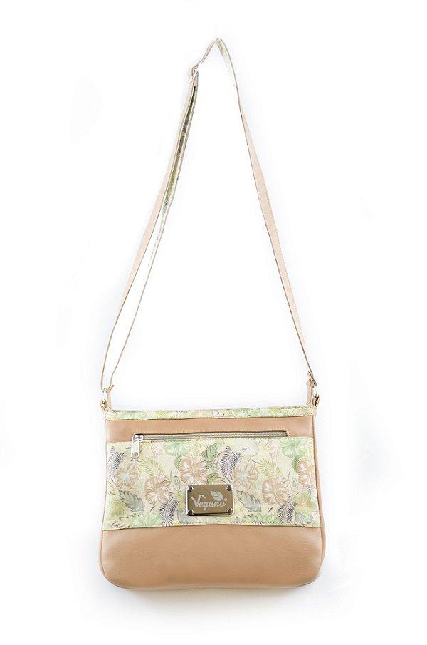 Bolsa Transversal Clusia 172 Caramelo/Floral