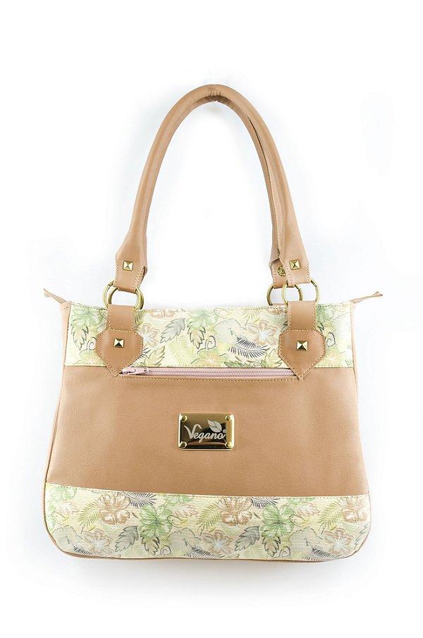 Bolsa Tingui 185 Caramelo/Floral