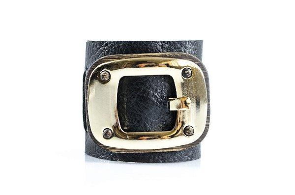 Bracelete Maytenus com fivela  720R Preto