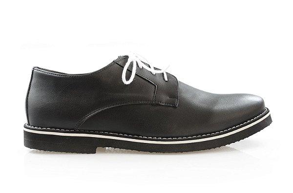 Sapato Cornus Preto/branco