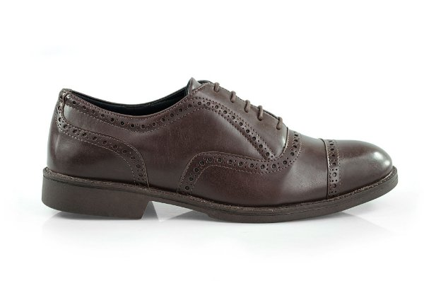 Oxford Vegan Elegance - Taro Brown