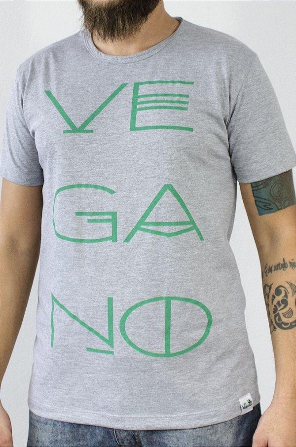 Camiseta Vegano 1002 cinza
