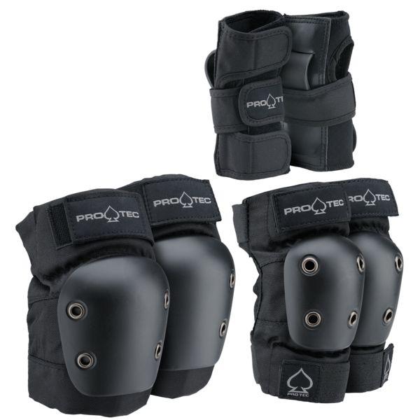 PROTEC Junior 3-Pack YM Black