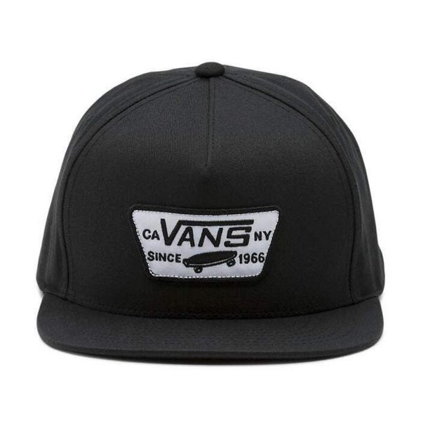 Boné Vans Full Patch Snapback - Black
