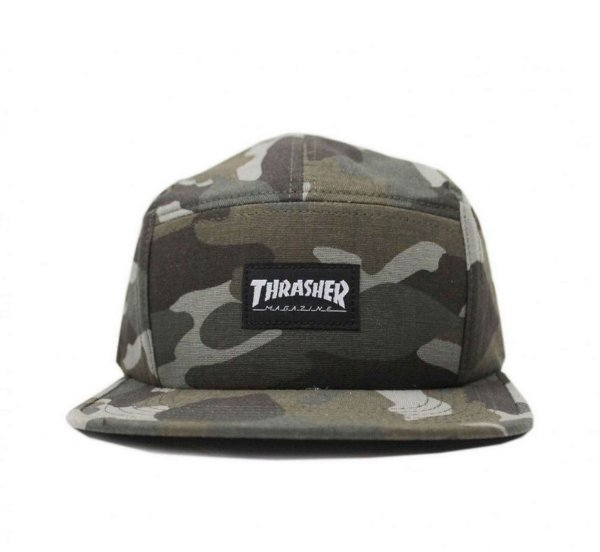 BONE THRASHER FIVE PANEL - MAG LOGO CAMUFLADO