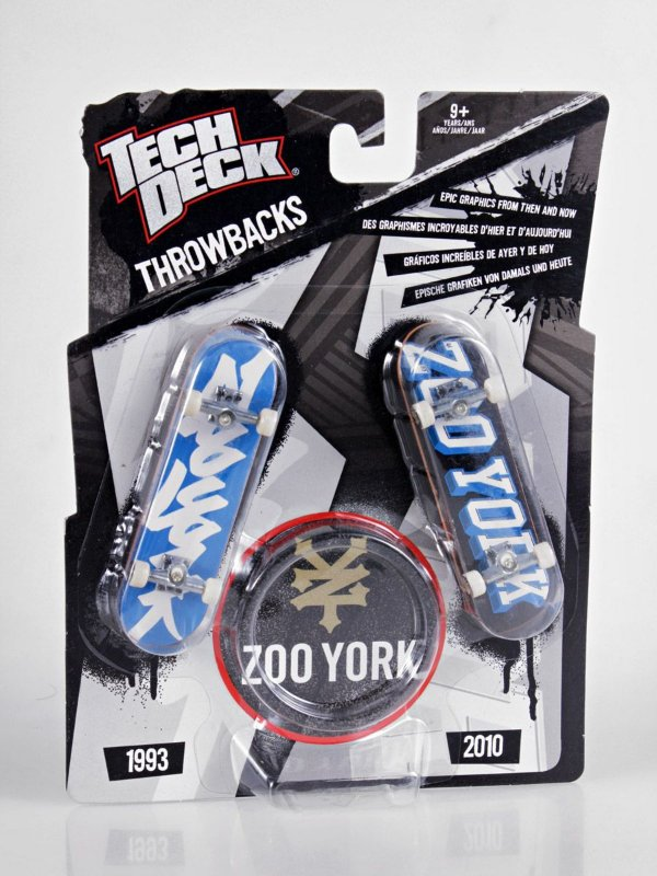 Fingerboard / Tech Deck Zoo York THROWBACKS Double