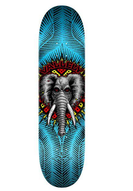 "SHAPE POWELL PERALTA VALLELY ELEPHANT BLUE 8,25"""