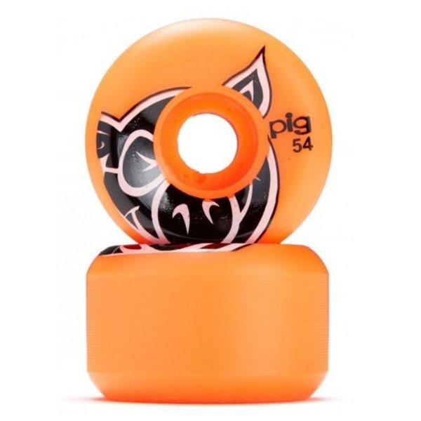 RODA PIG HEAD C LINE 54MM  ORANGE 101A