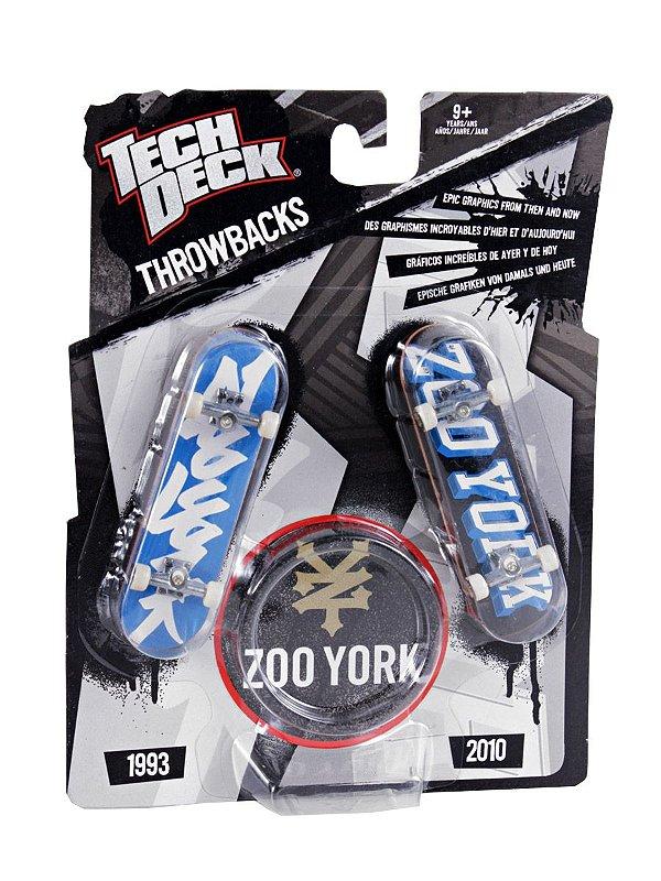 Tech Deck Zoo York THROWBACKS Double