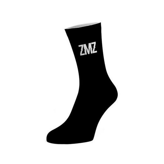 MEIA ZMZ PRETA (Tamanho único, veste 34 -44)