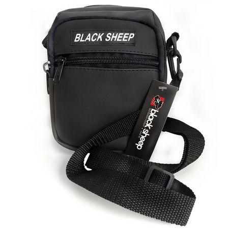 SHOULDER BAG BLACK SHEEP PRETA