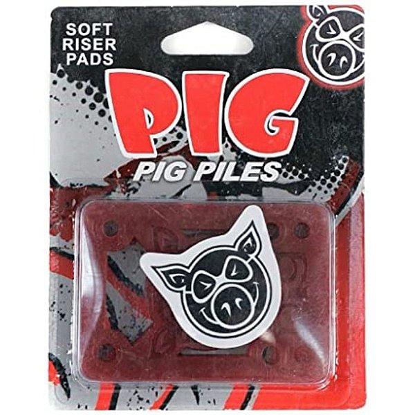 PADS PIG SOFT RED 1/8