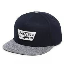 BONE VANS FULL PATCH SNAPBACK BLUE NAVY