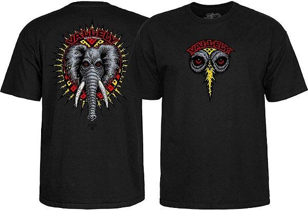 CAMISETA POWELL PERALTA VALLELY ELEPHANT BLACK TAM.M