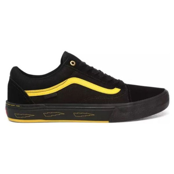 VANS OLD SKOOL BMX LARRY Black/Yellow EDGAR