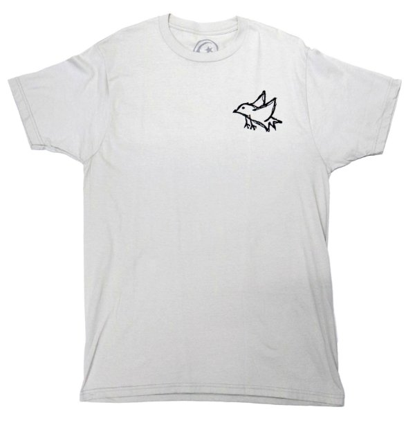 CAMISETA FOUNDATION BIRD GREY