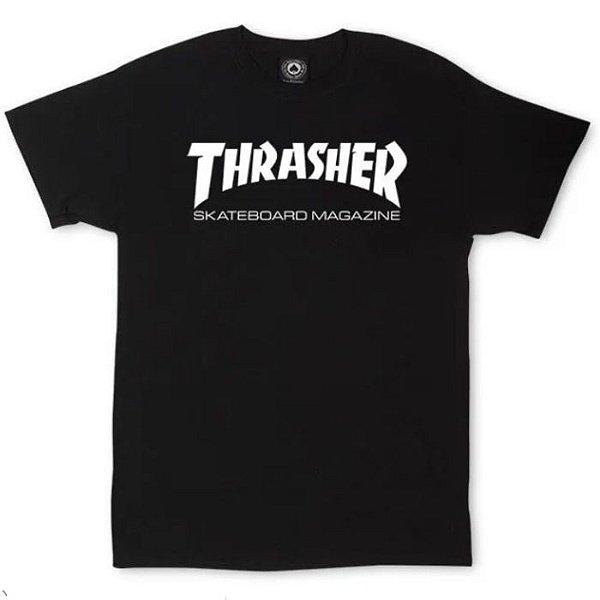 CAMISETA THRASHER JUVENIL BLACK