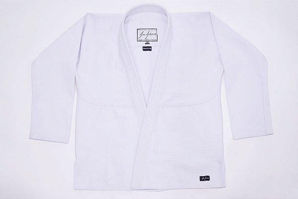 Kimono Jiujiteiros Trançado Branco