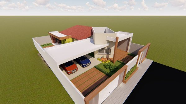 Casa 3 quartos com piscina