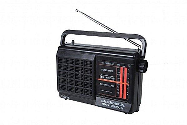 RM-PSMPBT21AC-RÁDIO PORTÁTIL FAIXAS AM/FM com Bluetooth