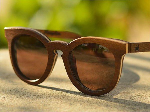 SEREIA Escuro - Óculos de madeira