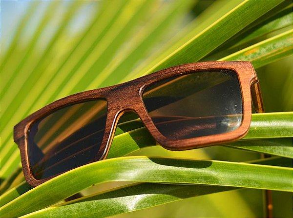 MALUNGO Escuro (14cm) - Óculos de madeira