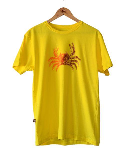 Camiseta Coqueiro Manglier - Amarela