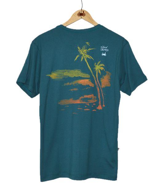 Camiseta Maraca Preserve - Verde Mangue