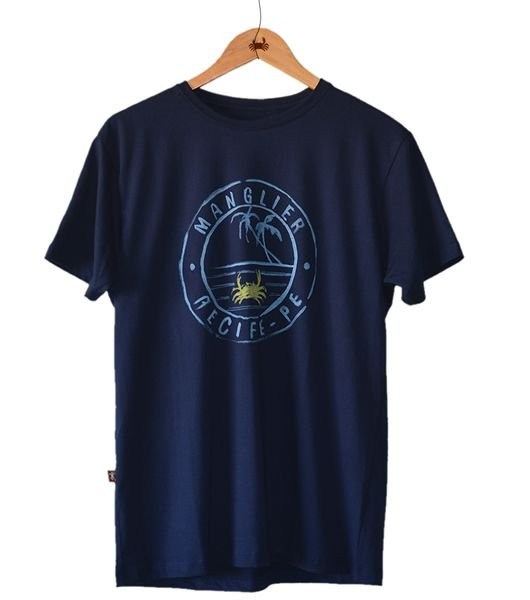 Camiseta Recife Manglier - Azul Mar