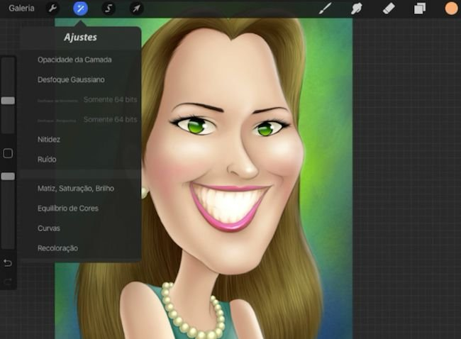 Procreate em iPad - Ferramentas do Programa (vídeo aula para download)