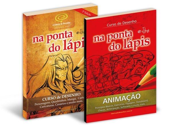 10% de Desconto | Pacote com 2 Livros: Livro Curso de Desenho + Livro Curso de Animação
