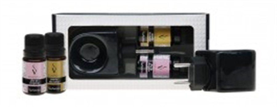 Kit Aromatizador Elétrico c/ 2 essências 10ml