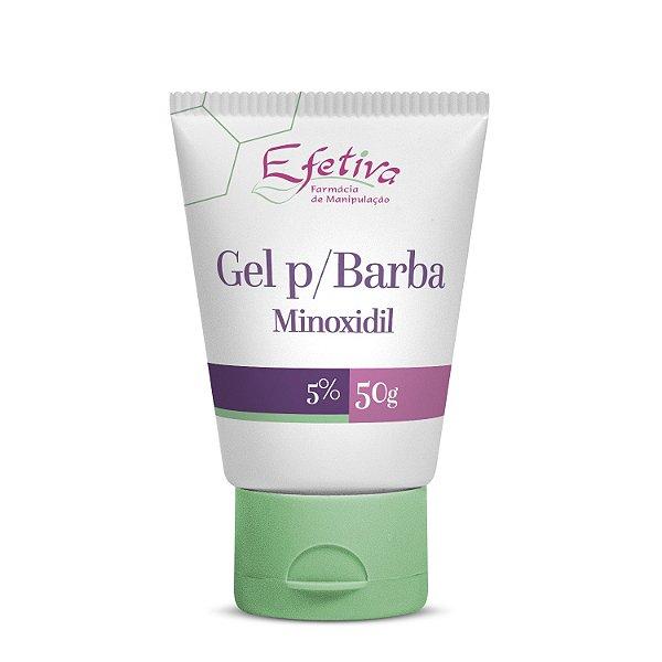 Minoxidil 5% Gel para Barba