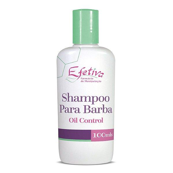 Shampoo para Barba Oil Control